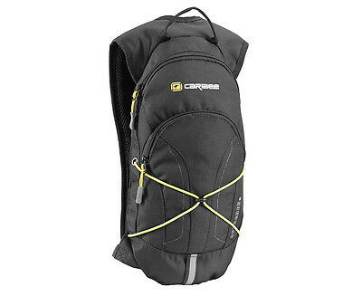 Caribee 2L Quencher Hydration Backpack - Black/Yellow