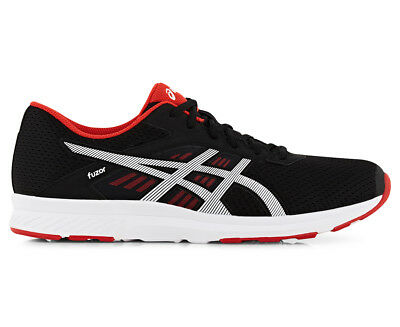 ASICS Men's Fuzor Shoe - Black/Snow/Vermilion