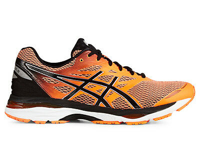 ASICS Men's GEL-Cumulus 18 Shoe - Hot Orange/Black/White