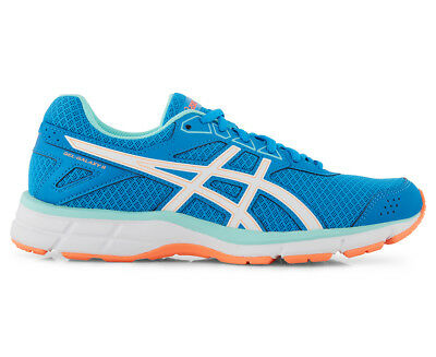 ASICS Women's GEL-Galaxy 9 Shoe - Diva Blue/White/Flash Coral