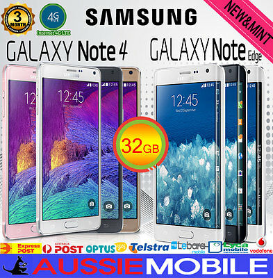 Samsung Galaxy Note4 & NOTE Edge 32GB LTE4G Unlocked