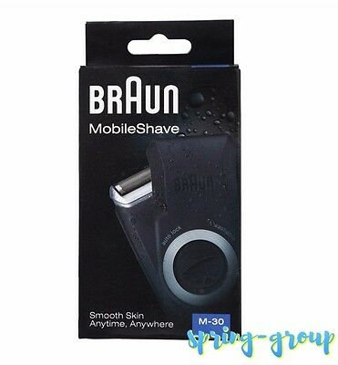 Mens Shaver Braun Washable Cordless Foil Shave Face Beard Hair Battery Compact