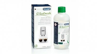 NEW 500 ml DeLonghi descaler decalcifier ECO Decalk - new packaging