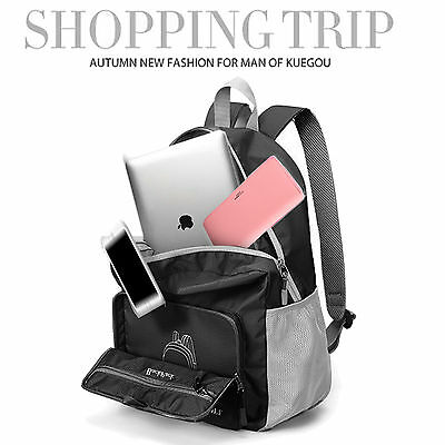 New Ultra-Smart Soft-Touch Water Resistant Sport Backpack Bag for Laptop Macbook