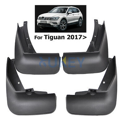 Set Mud Flaps Splash Guards Fender Mudguard for Volkswagen Tiguan Mk2 2017 2018