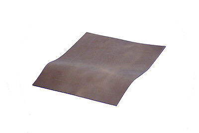 BROWN THICK LEATHER A4 SIZE Perfect for craft work and making leather pouches