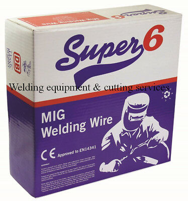Gasless Flux Cored Mig Welding Wire 0.8mm or 0.9mm x 4.5kg
