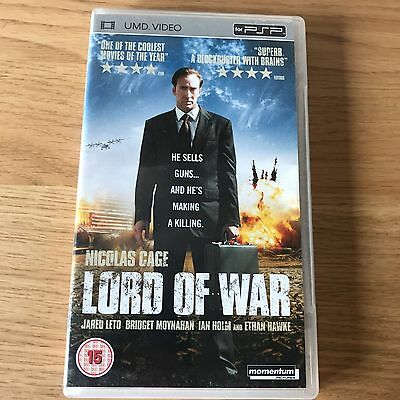 Lord Of War PSP UMD Video | 2005 Arms Dealer Thriller Film | Nicolas Cage