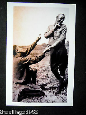 Postcard / Two WWI Soldiers in Love / Gay Interest