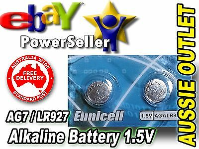 2 pcs. AG7 / LR927/ SR927SW Battery 1.5V Alkaline Batteries - Stock in Australia