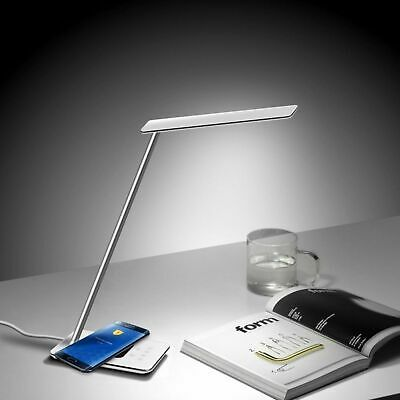 LED lampe mit ladefunktion usb ladegerät qi wireless ladestation kabellos laden