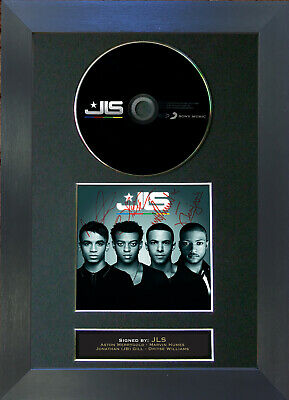 JLS The Album Signed CD Mounted Autograph Photo Prints A4 28