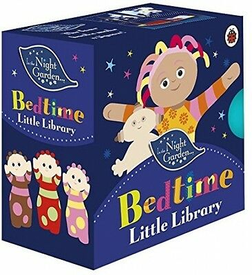 In the Night Garden Bedtime Little Library 4 Books Baby and Toddler-New