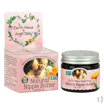 NEW Earth Mama Angel Baby Non GMO Natural Nipple Butter  (2oz) BRAND NEW