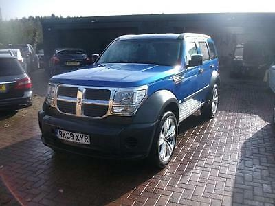 2008 Dodge Nitro 2.8CRD SE 6 SPEED SALVAGE DAMAGED REPAIRABLE DRIVES