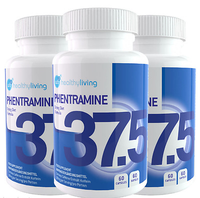 Phentramine 37.5mg Advanced Weight Loss Diet Pills Appetite Suppressant 180 Caps