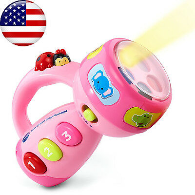 VTech Spin and Learn Color Flashlight Baby Kids Toddler Learning Educational Toy