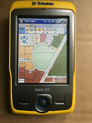 TRIMBLE JUNO SC GPS DATA COLLECTION PDA  WiFi + ARCPAD 8 / Office PSU
