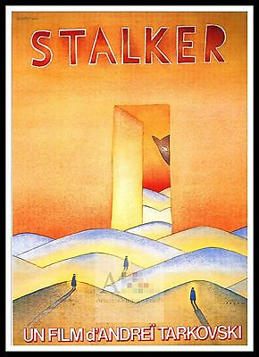 Stalker 4  Poster Greatest Movies Classic & Vintage Films
