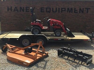 2016 Massey Ferguson GC1705 Tractor and Loader