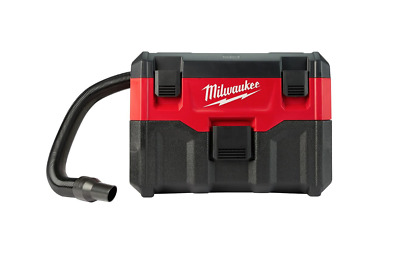 Cordless Wet Dry Vacuum Milwaukee M18 18 Volt Lithium Ion Vac Cleaner Tool Only
