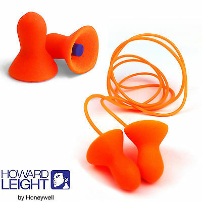 Howard Leight by Honeywell Reusable Ear Plug - Quiet Uncord / Corded Earplugs