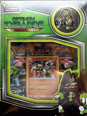 Pokemon 25923 Optimum Zygarde Pin-Kollektion NEU OVP