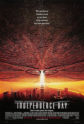 Independence Day (1996) Original Version C Movie Poster  -  Rolled  Double-Sided