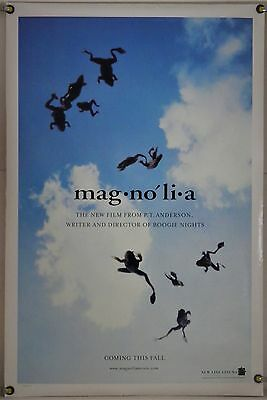 Magnolia Ds Rolled Adv Orig 1Sh Movie Poster Tom Cruise Julianne Moore (1999)
