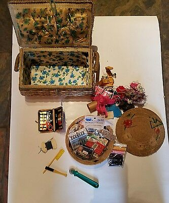 sewing lot baskets