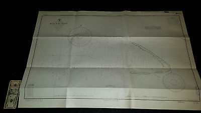 Antique Vintage US Navy  Nautical Chart  Aeronautical Map   Kingman Reef Pacific