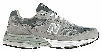 New Balance Mens Classic 993 Running Shoes Grey