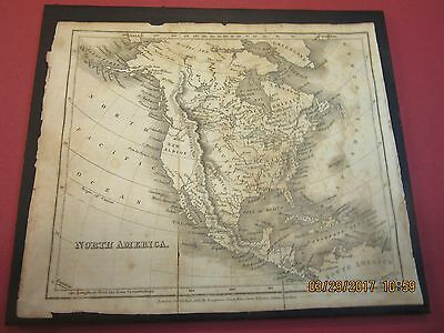 1825 Map of North America