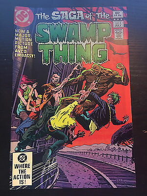 Swamp Thing (1982 2nd Series) #3 VF Very Fine DC Comics