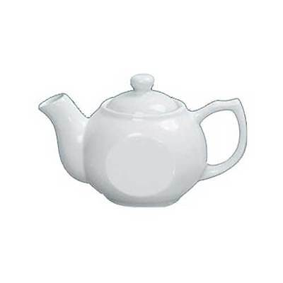Yanco Porcelain White Accessories Coffee/Teapot with Raised Lid, 15 Ounce -- 36