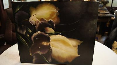 Oil Painting HD Art Print on Canvas of Still Life- Flowers, Signed