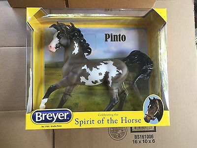 Breyer Grullo Pinto #1703 Ethereal Mold Paint Horse