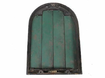 """Antique Cast Iron Heater Wall Grate Vent Louver 12"""" x 8"""""""