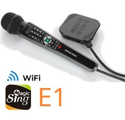 NEW Magic Sing ET30KH WiFi Karaoke Mic Free 12K songs & 1 Year Subscription