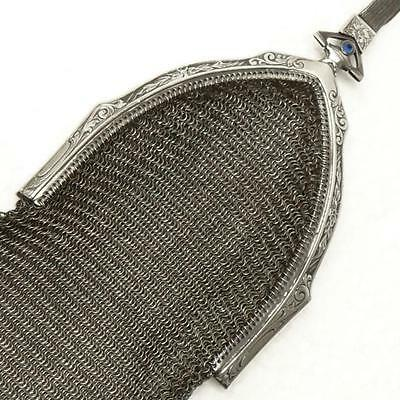 Vintage 1920s WHITING & DAVIS Soldered MESH PURSE - CLEAN! - FreeShipping!