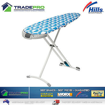 Hills Ironing Board Large with Sliding Caddy Professional with Bonuses