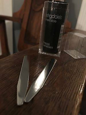Bloomingdales Men's Metal Collar Stays