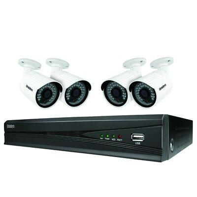 Uniden Guardian GNVR8540 8 channel HD 1080P NVR  and 4 x 2MP Security Cameras