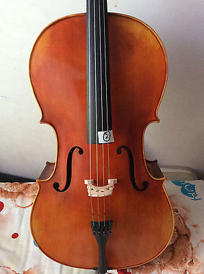 Master  Cello 4/4 Size full Hand made antique old style handcarved no.two cello