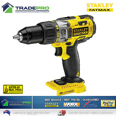 Stanley® Fatmax 18V Cordless Hammer Drill 2 Gear PRO Lithium-ion Technology