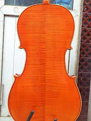 Best Cello 4/4 Size full Hand made antique old style cello great tone