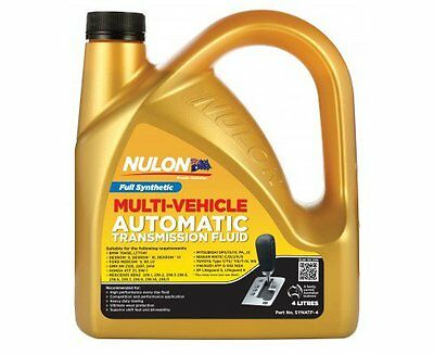 Nulon Full Synthetic ATF Automatic Transmission Fluid 4 Litre
