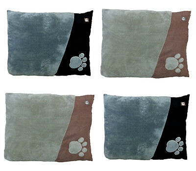 Extra Large Dog Pet Bed Pillow Cushion with Removable Zipped Cover 91cm x 68cm