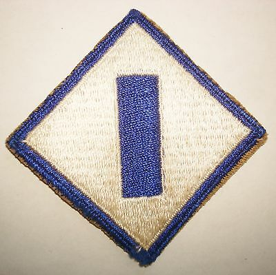 ORIGINAL WWII CUT EDGE ARMY 1st SERVICE COMMAND PATCH WW2