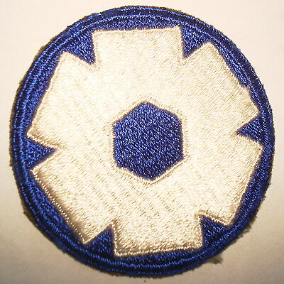 ORIGINAL WWII CUT EDGE ARMY 6th SERVICE COMMAND PATCH WW2